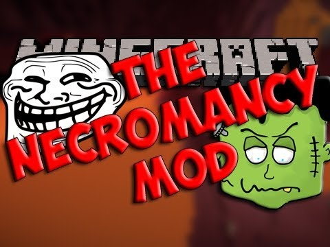 Minecraft Mods | Episode 773 | NECROMANCY | iPodmail | 1.4.5