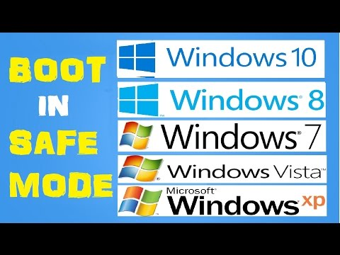 How to Boot Windows 10/8/7/Xp into Safe Mode without using F8 Key (Works on all Version of Windows)