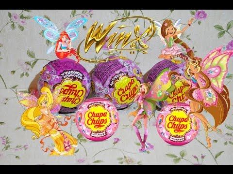 Winx Club Новые Шоколадные Шары от Чупа Чупс