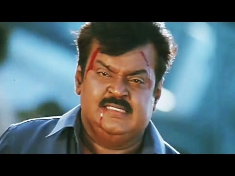 Climax Scene The Return of Khuda Gawah - Vijayakanth Kills Nawab Shah - Scene 11/11