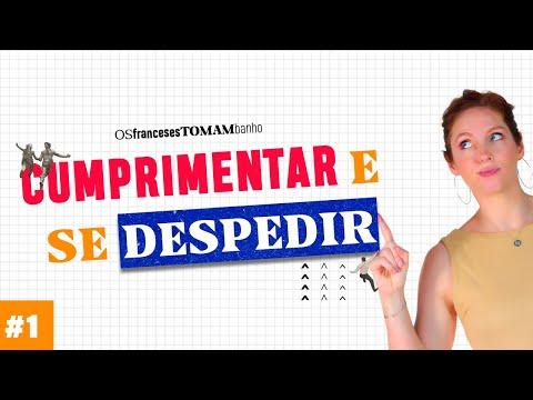 Curso Básico de Francês #1   Cumprimentar e se despedir   Céline Chevallier