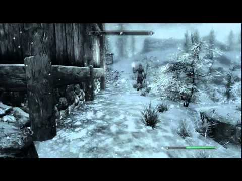 Skyrim: Invisible Treasure Chest Easter Egg