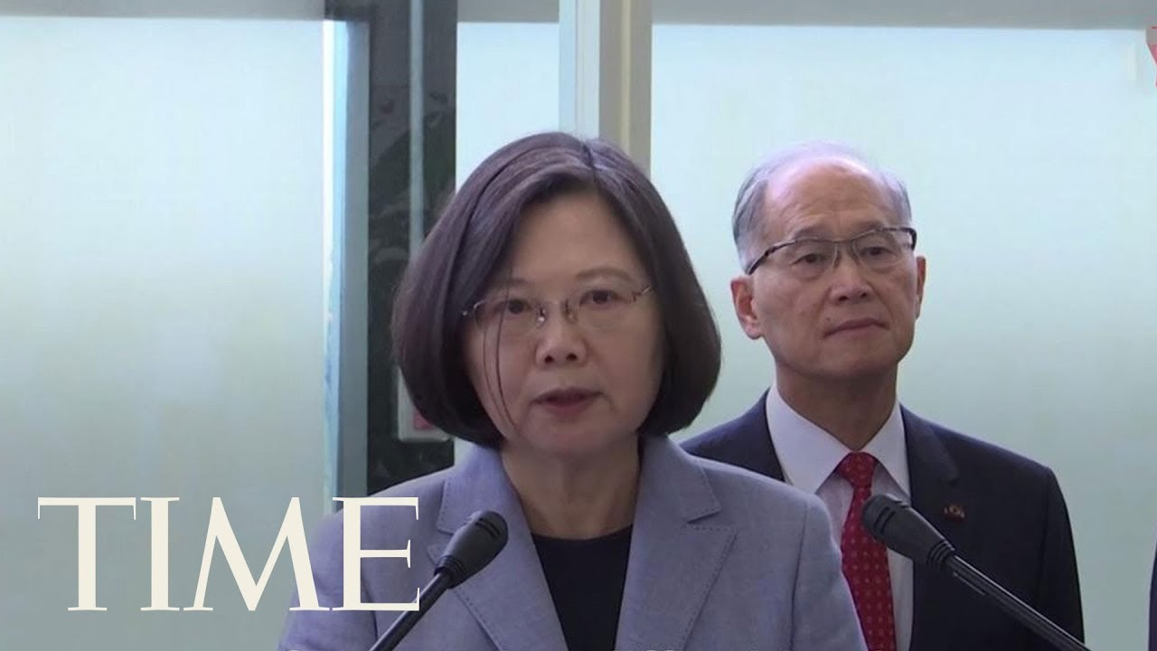 President Tsai Ing-Wen Defiant On U.S. Trip: 'No One Can Obliterate Taiwan's Existence' | TIME