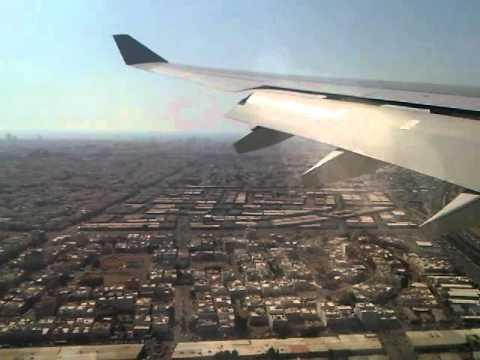 Saudi Arabian Airlines plane landing Jeddah airport a333