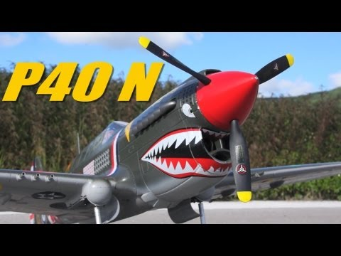 HobbyKing Product Video - P-40N Giant Scale 1700mm EPO Warbird