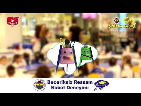 Beceriksiz Ressam Robot - Fenerbahçe Düşyeri Çocuk Deneyim Kulübü