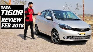 Tata Tigor 2018 Review By DKT TECH | Tata tigor XZ & XZO Petrol