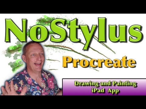 Procreate iPad Drawing and Painting App - Tutorial 1