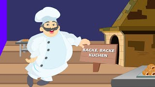 Backe, backe Kuchen | Kinderlieder deutsch | German kids song