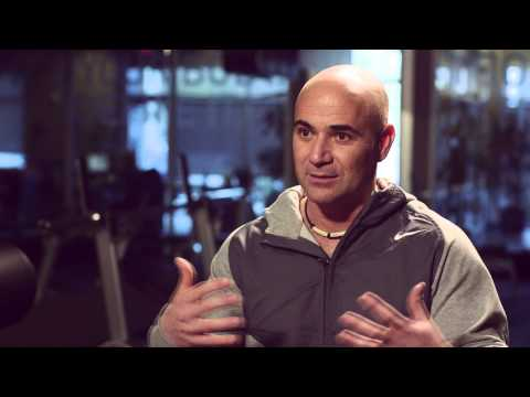 Two Minutes With Andre Agassi