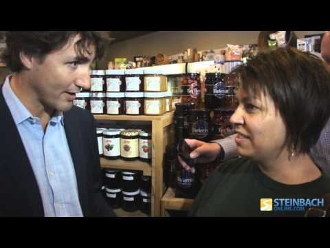 Trudeau discusses weed with a concerned mother