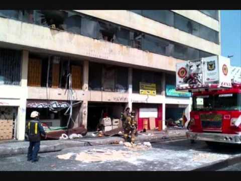 Explosión en el centro de Bogotá deja al menos cuatro heridos