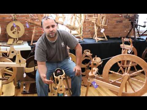 How to Choose a Spinning Wheel with Kyle at Paradise Fibers
