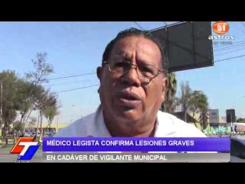 MÉDICO LEGISTA CONFIRMA LESIONES GRAVES EN CADÁVER DE VIGILANTE MUNICIPAL