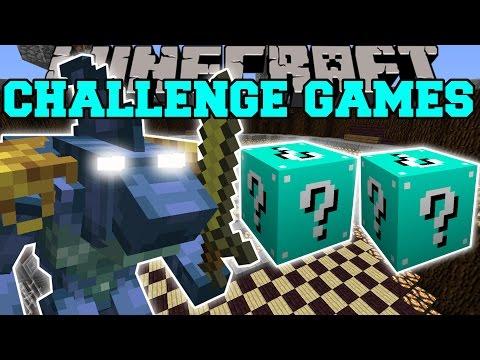 Minecraft: SHARKO CHALLENGE GAMES - Lucky Block Mod - Modded Mini-Game