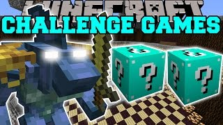Minecraft: SHARKO CHALLENGE GAMES - Lucky Block Mod - Modded Mini-Game