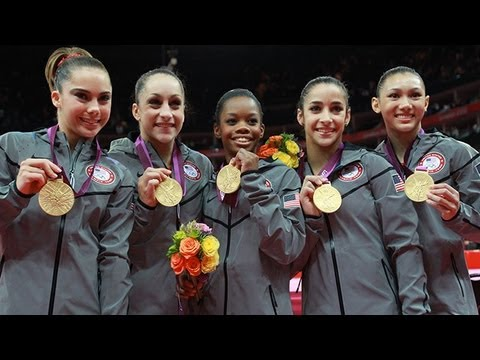 The Fierce Five Talk About the Olympic Team Gold Medal