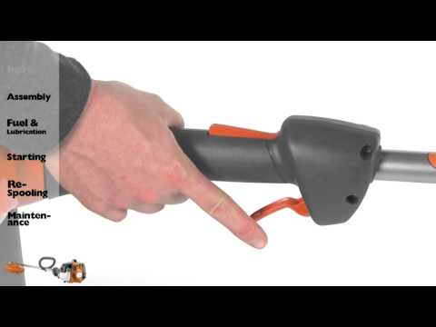 Husqvarna String Trimmers - Intro