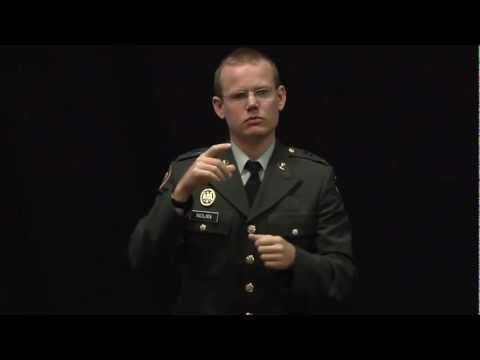 Deaf in the military [Subtitled] | Keith Nolan | TEDxIslay