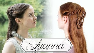 Game of Thrones Braid Tutorial - Lyanna Stark & Rhaegar Targaryen Wedding
