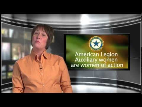 American Legion Auxiliary Membership Video