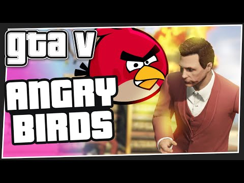Angry Birds - GTA 5 Online