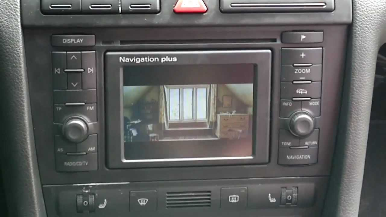 audi a6 c5 2 5 tdi quattro rns d navigation plus dvd youtube. Black Bedroom Furniture Sets. Home Design Ideas