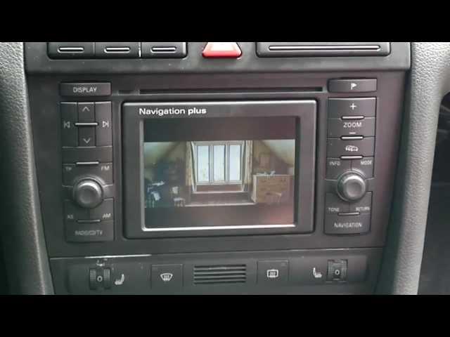Audi A6 C5 2.5 TDI quattro RNS D Navigation Plus/DVD - YouTube