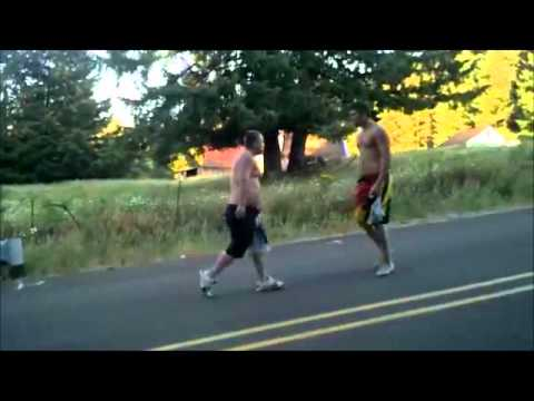 Hawaiian faces down 10 drunks in Podunk, Oregon. (THE WHOLE VIDEO UNEDITED!)