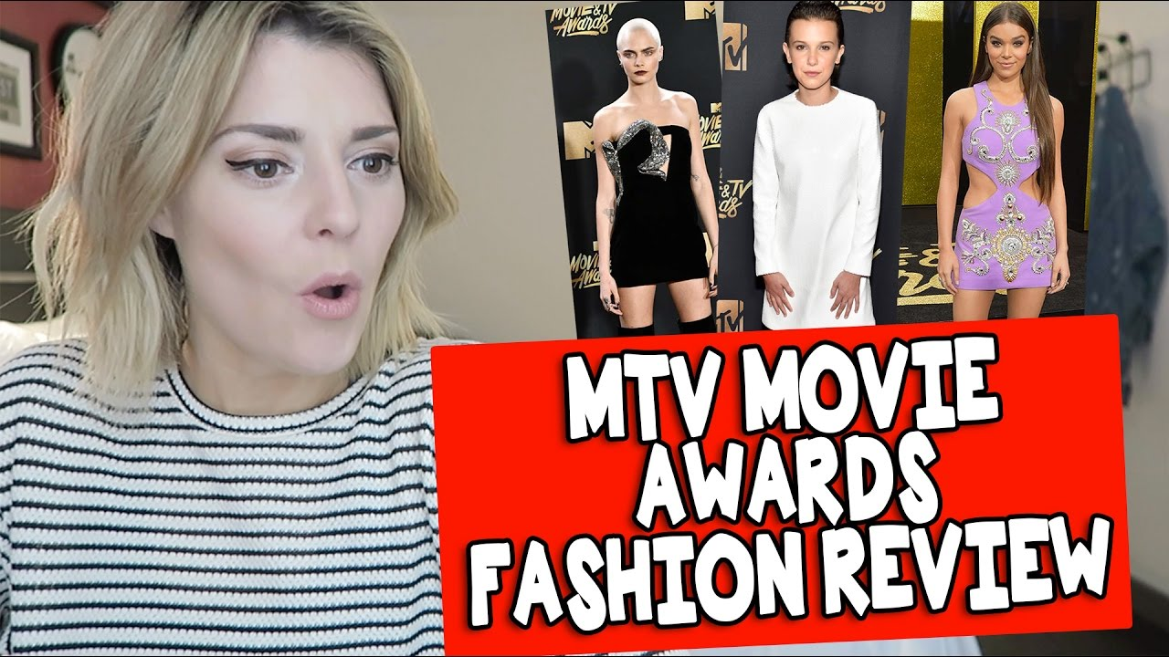 MTV MOVIE AWARD FASHION REVIEW // Grace Helbig