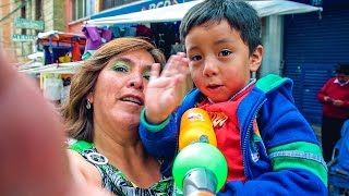 La Paz - Bolivia // Meeting the city and the people  [Full HD]