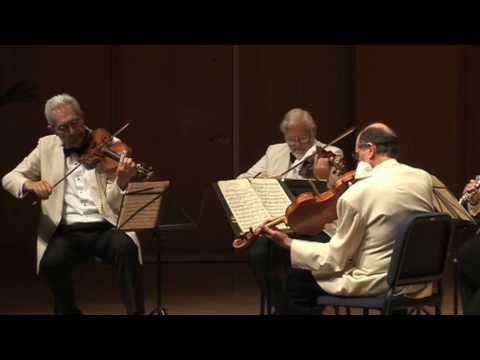Guarneri Quartet / David Shifrin - Brahms Clarinet Quintet, Movt. 1 Part 1