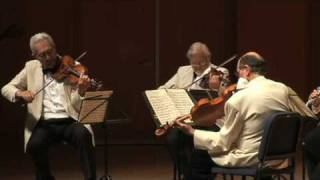Guarneri Quartet / David Shifrin - Brahms Clarinet Quintet, Movt. 1 Part 1