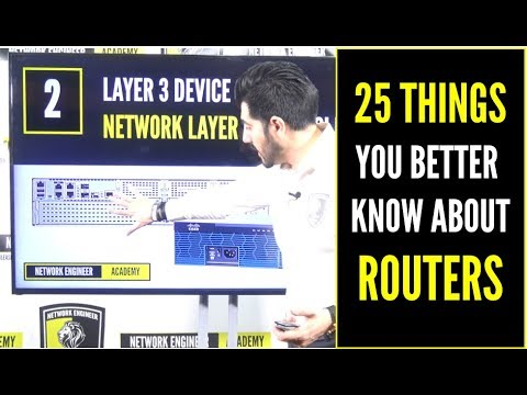 25 THINGS YOU BETTER KNOW ABOUT ROUTERS  PART 1 - CCNA NETWORK+ CCENT