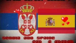 Serbian and Spain Music Remix 2010