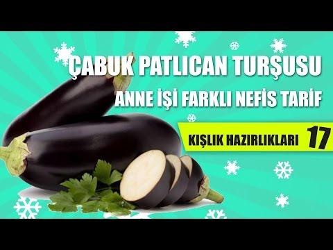 Çabuk Patlıcan Turşusu Tarifi - Kışlık Hazırlıkları #17