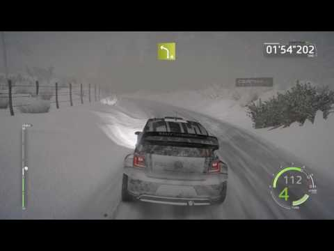 WRC 6 FIA World Rally Championship - Snow Gameplay PC 1080p 60 FPS #1