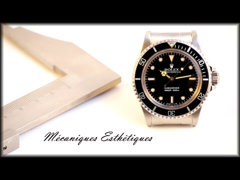 Rolex Submariner 5513 (1983) Super Strong Patina & Bp ! video