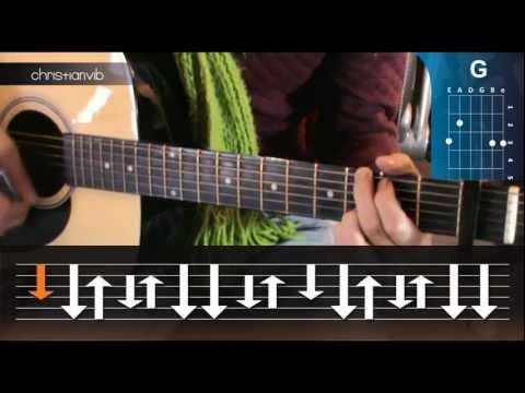 ... - Cómo-tocar-morí-de-tranzas-en-guitarra-hd-tutorial-christianvib