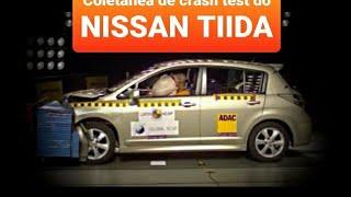 Coletânea de crash test do NISSAN TIIDA