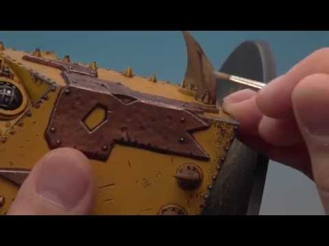 Painting the Ork Morkanaut (Part 3 of 3).