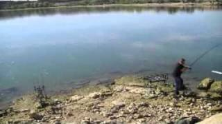 Ebro 9 carp runs on film 2010 Team Trigger Baits