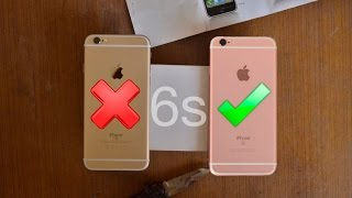 Real VS Fake iPhone 6s Clone: How To Spot Fake!!!