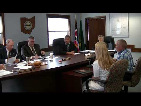 Geauga County Commissioners' Meeting, 7/21/15