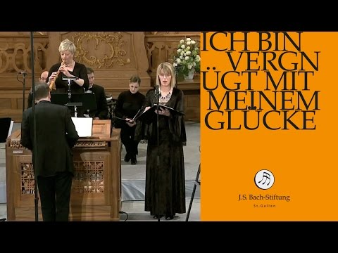 Бах Иоганн Себастьян - Cantata BWV 84, Ich bin vergnügt mit meinem Glücke