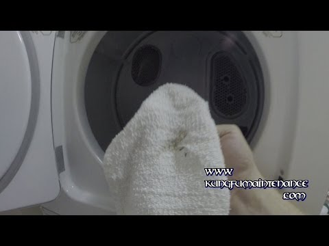 washing machine leaving stains on clothes