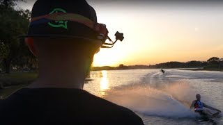 GetFPV Drone Dancing with World Famous Water Ski Athletes