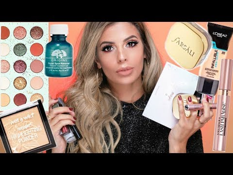 BEST MAKEUP OF 2017   DRUGSTORE AND HIGH END