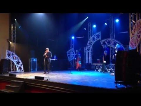Morandi a sopresa sul palco di Papaleo canta