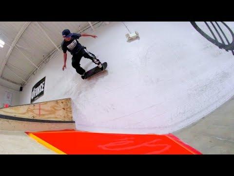 Skate Over Lava / Wallride of Death!